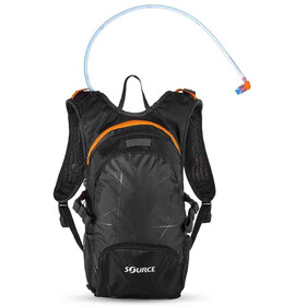 SOURCE Fuse Trinkrucksack 2+6l Black/Orange